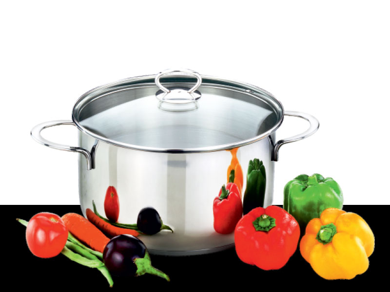 Cook pot Beau with Glass Lid
