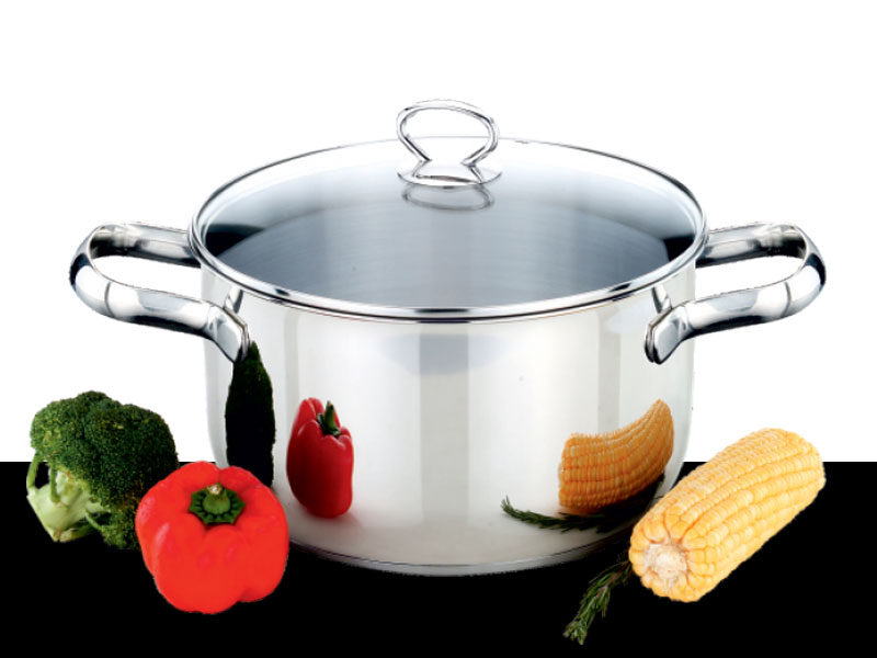 Cook pot Charmant with Glass Lid